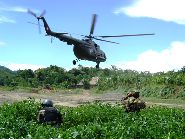 Narcoterroristas derriban otro helicóptero y dejan 4 muertos, revela Jaime Antezana