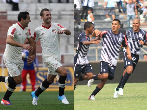 Universitario de Deportes y Alianza Lima siguen repuntando