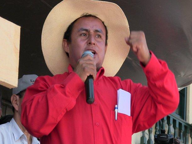 Cajamarca: Gregorio Santos lamenta muertes por violencia en Celendín