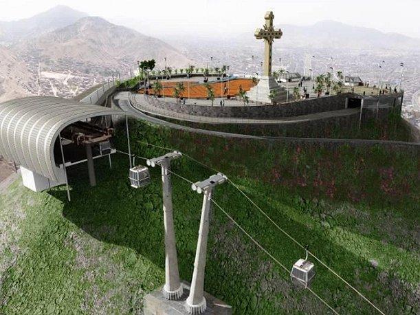 Así será el Teleférico de Lima que estará listo en el 2013 (VIDEO)