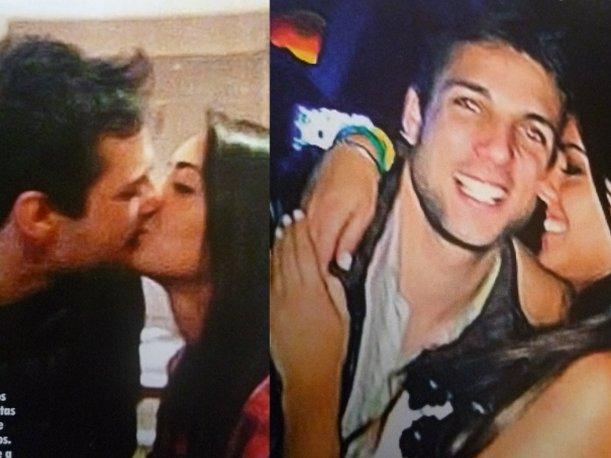 Esto es Guerra: Nicola Porcella se da besitos en la boca con una chica que no es Angie Arizaga