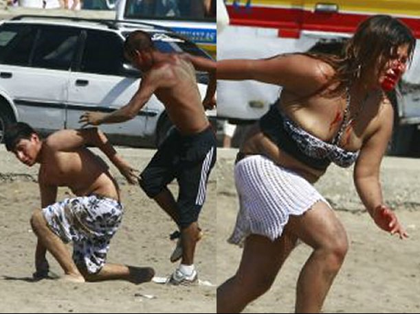 Chorrillos: Sujeto ebrio masacró a golpes a una mujer en la playa Agua Dulce