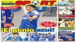 Kiosko Deportivo: Raúl Ruidíaz en la U. de Chile acapara las portadas - Noticias de flavio maestri