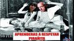 Se burlan en Facebook de Celine Aguirre y Miki González - Noticias de sala luna pizarro