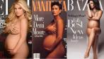 FOTOS: Embarazadas y desnudas, famosas que posaron en la dulce espera - Noticias de britney spiers