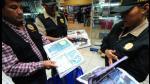 FOTOS: La Policía Fiscal realiza operativo antipiratería en la galería Compu Palace - Noticias de operativo antipiratería