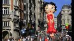 Fiesta del Cómic: El Pájaro Loco, Spirou y Betty Boop invaden el cielo de Bruselas - Noticias de betty boop