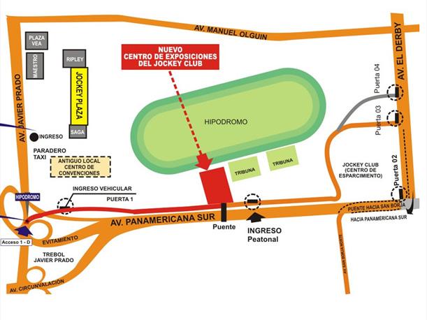sabes cu les son las v as de acceso al motorshow 2012 en