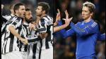 Las dos caras de la moneda: Juventus clasificado y Chelsea eliminado (FOTOS) - Noticias de fotos champions 2012-13