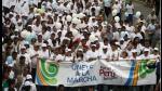 """Lima: Así fue la marcha """"Por un Perú Íntegro"""" contra la corrupción (FOTOS) - Noticias de integra"""
