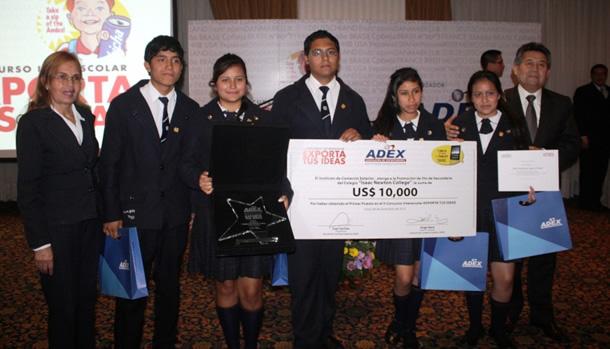 Instituto de Comercio Exterior de ADEX premia el emprendimiento estudiantil