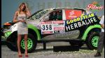 Alina Moine presentó la caminoneta Alta Ruta 4x4 para el Dakar 2013 (FOTOS) - Noticias de alina moine