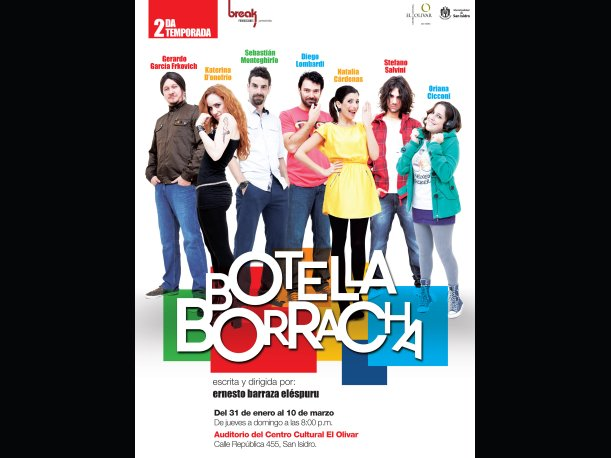 Botella Borracha: Se reestrena obra teatral