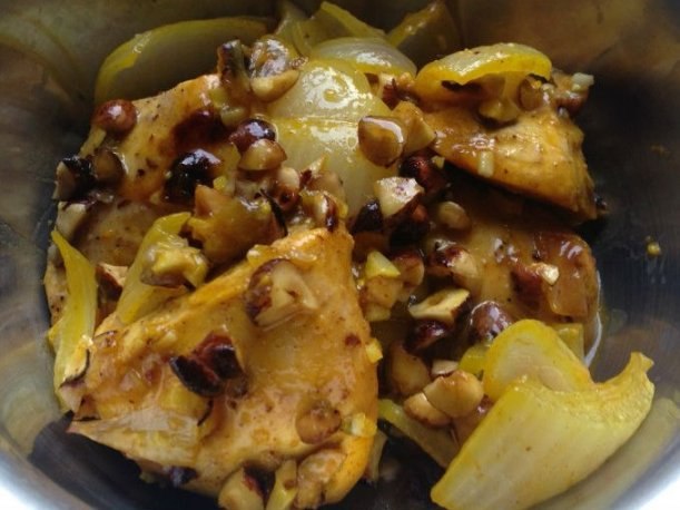 Pollo caramelizado con avellanas una receta exquisita - Comida para sorprender ...