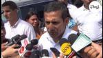 Ollanta Humala: Nadine Heredia está en reposo y chofer embistió su vehículo (VIDEO) - Noticias de clínica angloamericana